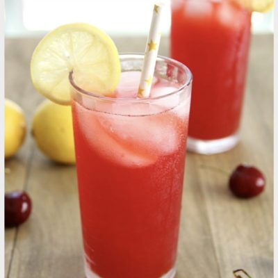 Wild cherry lemonade